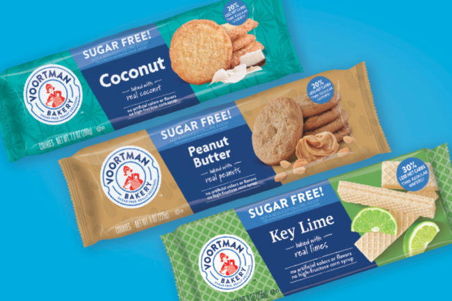 Voortman new sugar-free cookies