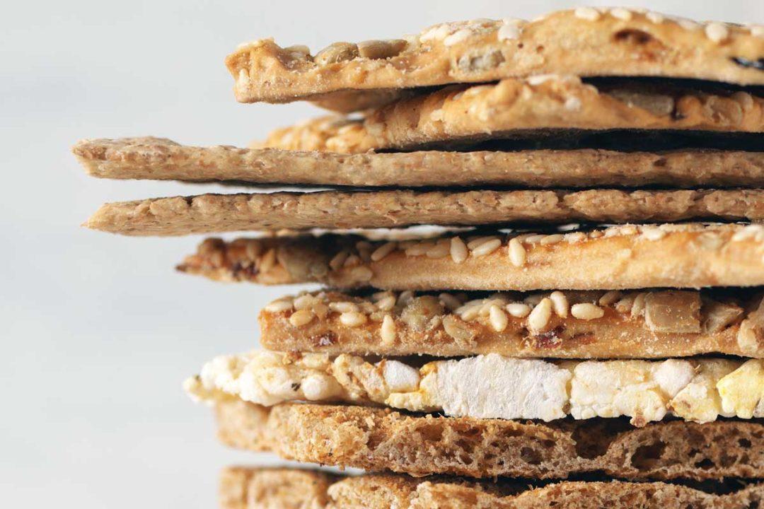Crackers, sodium reduction