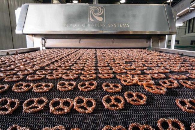 Unique Snacks pretzels