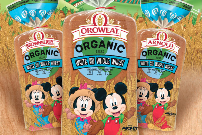 Arnold, Brownberry and Oroweat Kids Organic White Bread