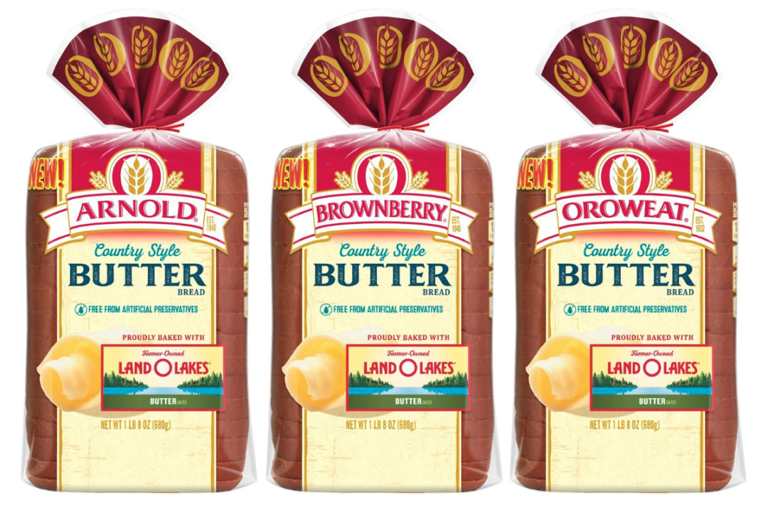 BBU Land O Lakes Country Style Butter Bread