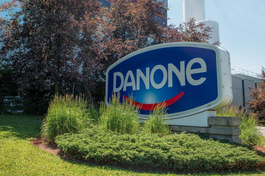 Danone sign