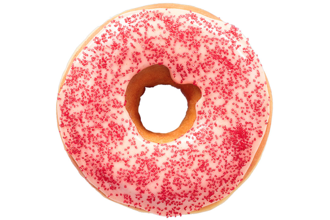 Dunkin' Spicy Ghost Pepper Donut