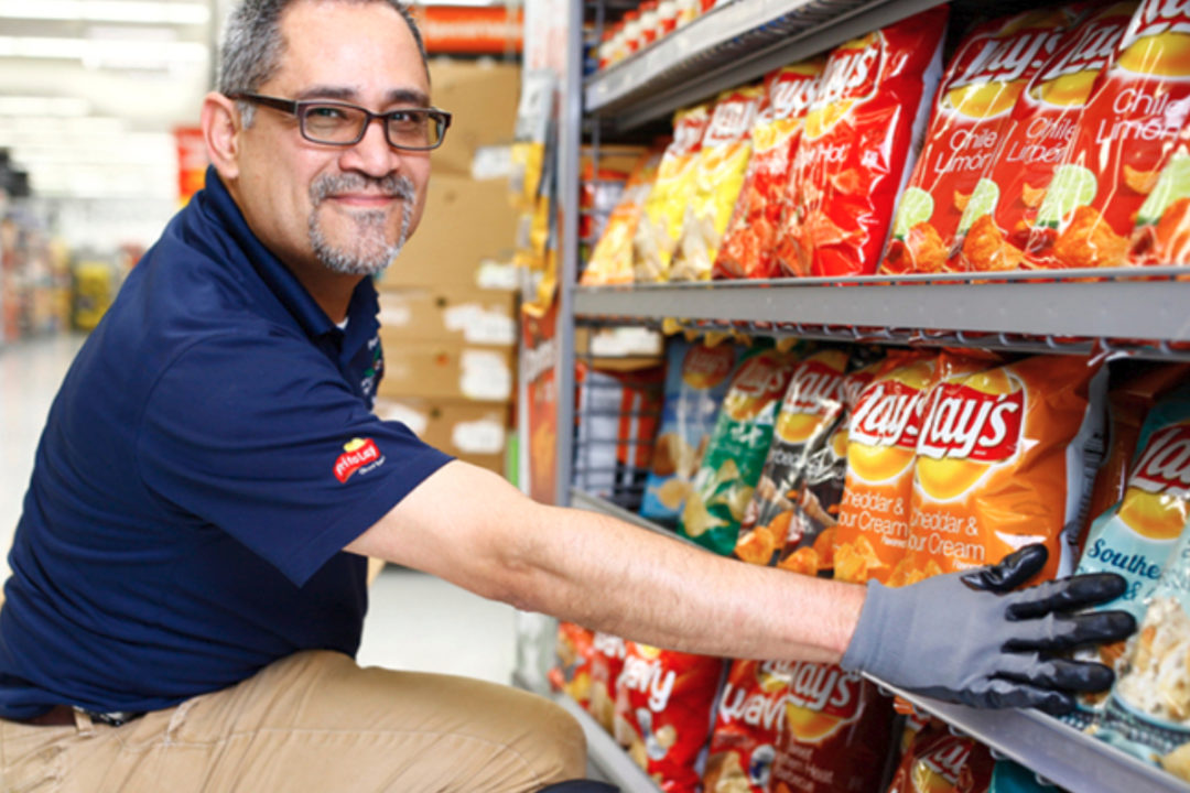 Hispanic Frito-Lay employee
