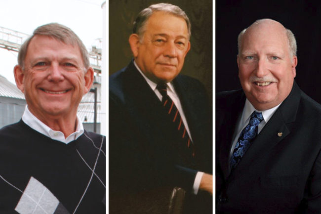 "Charles B. ""Chip"" Knappen III, Luke A. Marano Sr. and A. Bruce Roskens"