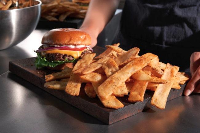 Lamb Weston QSR steak fries