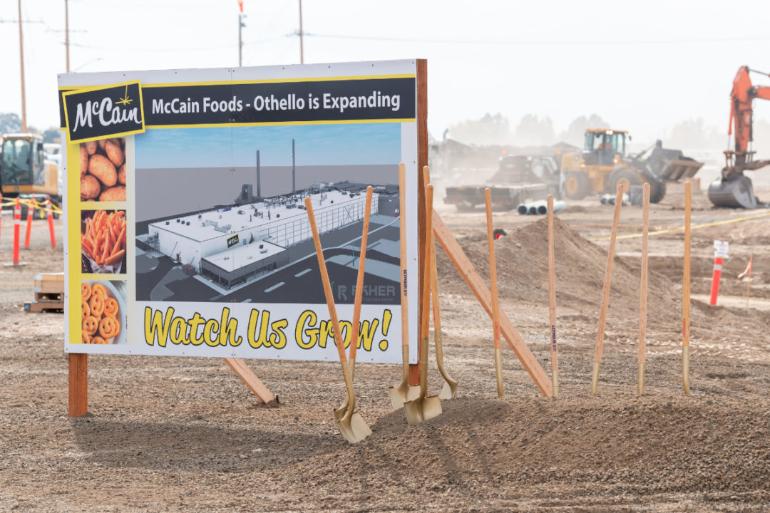 McCain Foods Othello plant