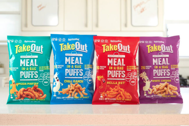 Outstanding Foods TakeOut Meal-In-A-Bag Puffs