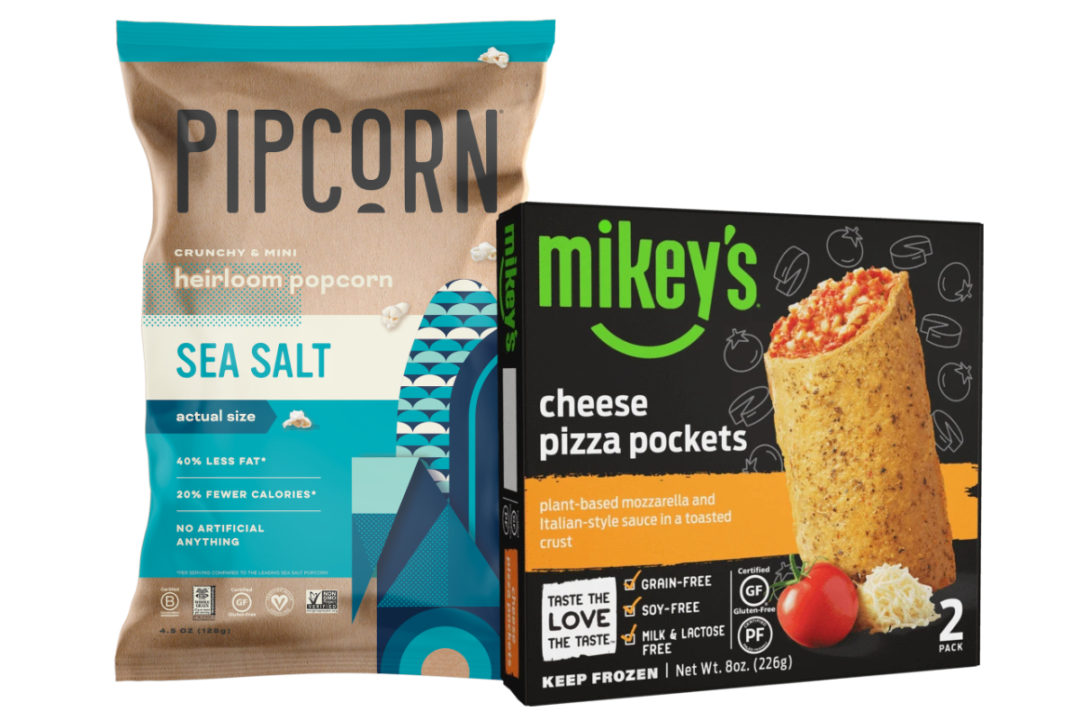 Pipcorn and Mikeys products