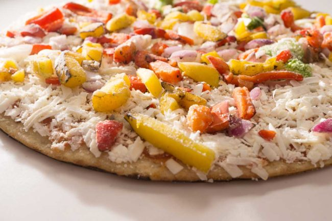 Frozen Pizza processing
