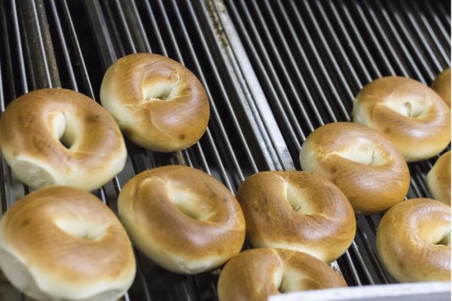 Bagel production line