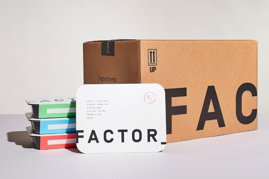 Factor75 meals box