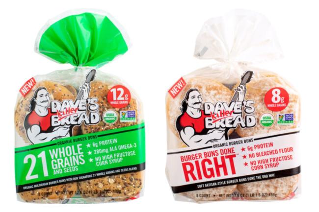 Dave's Killer Breads Buns