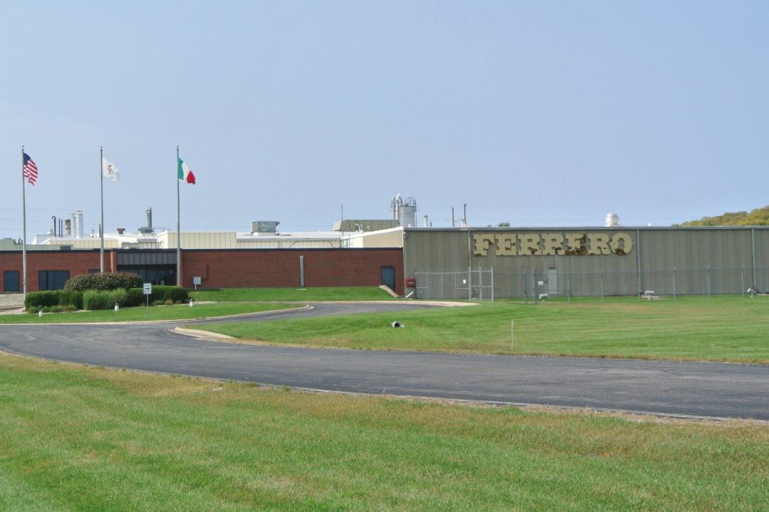 Ferrero Bloomington, Illinois, plant