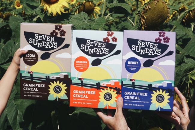 Seven Sundays Grain Free Sunflower Cereal