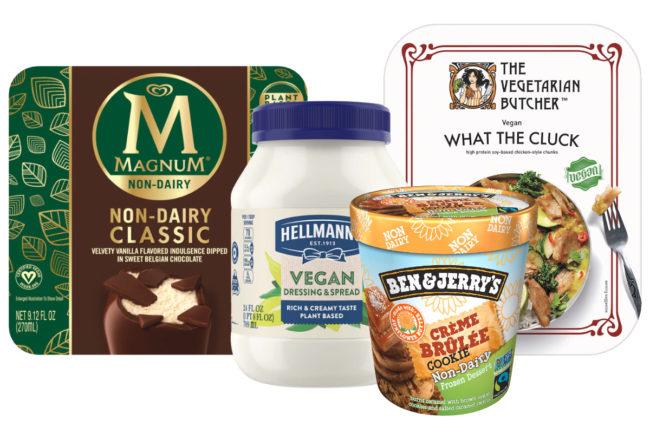 Unilever plant-based products