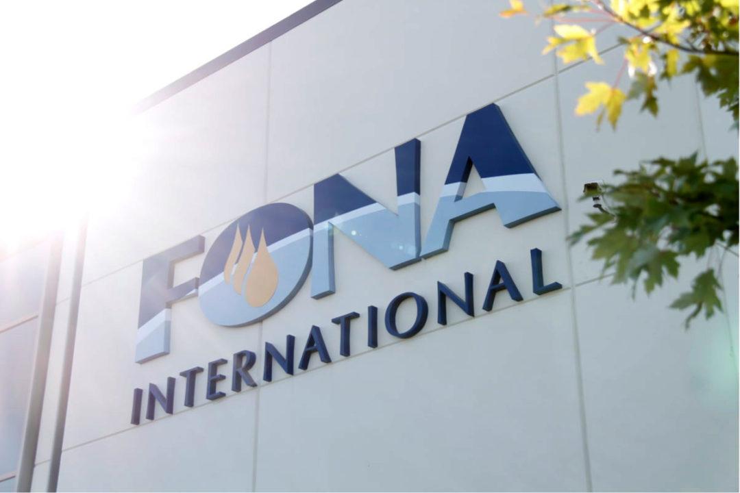 FONA International, LLC sign