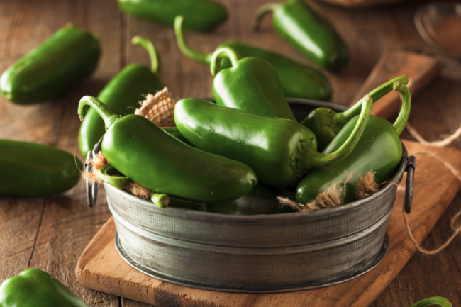 Organic Green Jalapeno Peppers