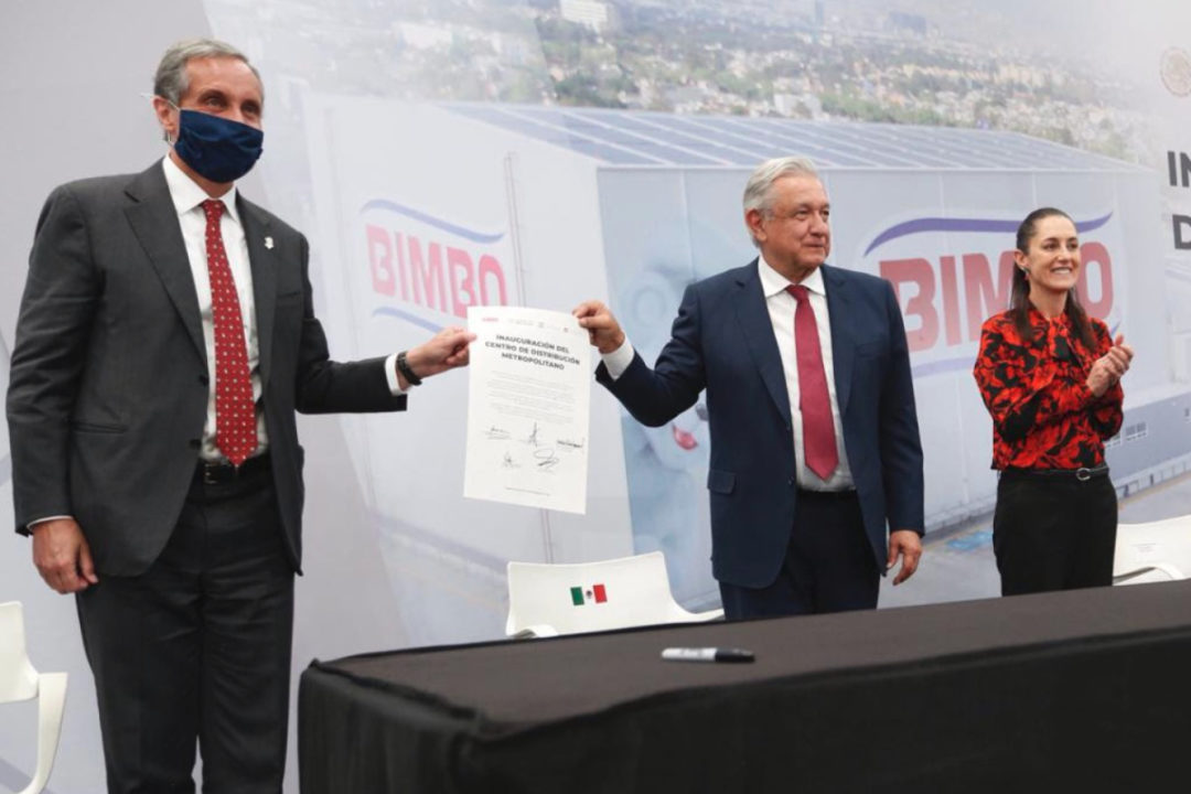 Grupo Bimbo opens distribution center in Mexico City