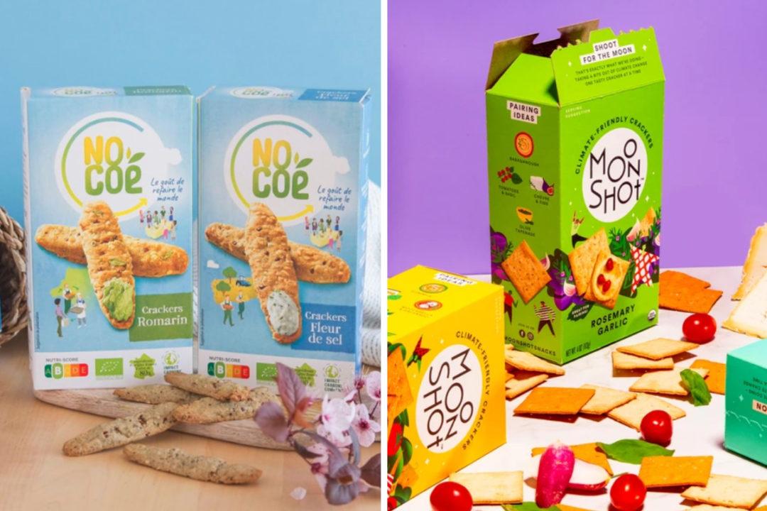 NoCoé and Moonshot Snacks crackers