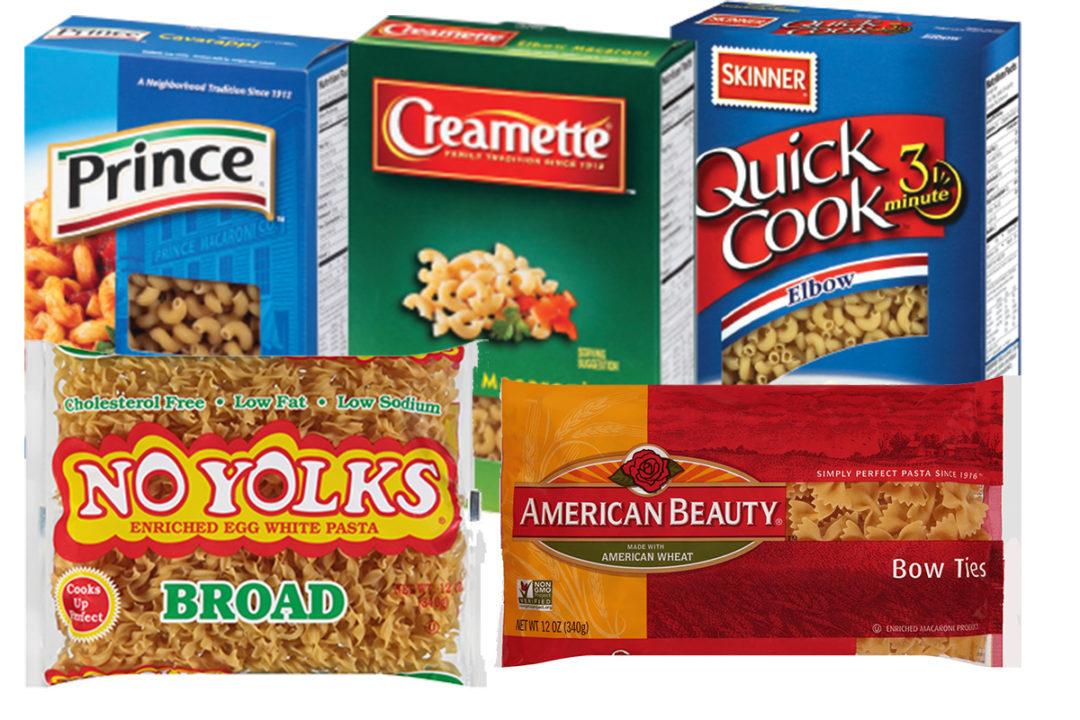 Riviana Foods pasta brands