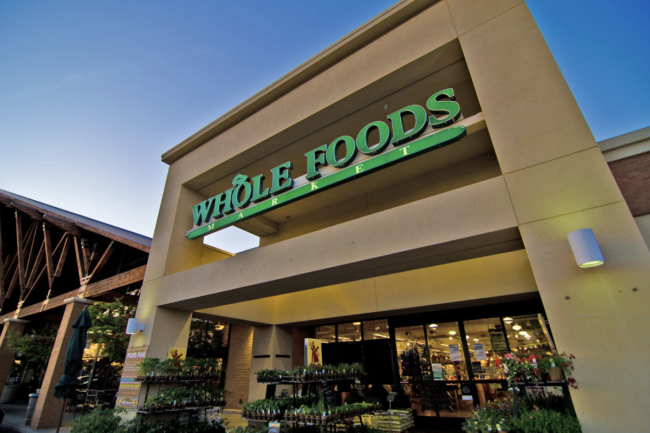 Whole Foods Market store exterior