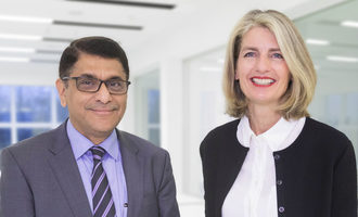 Buhler dipak mane and irene mark eisenring chief human resources officer photo cred buhler e