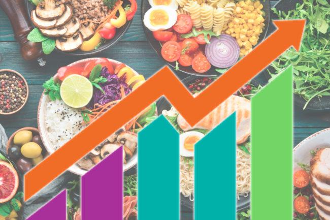 Food sector stocks