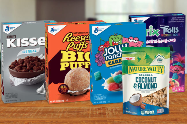General Mills cereal innovation