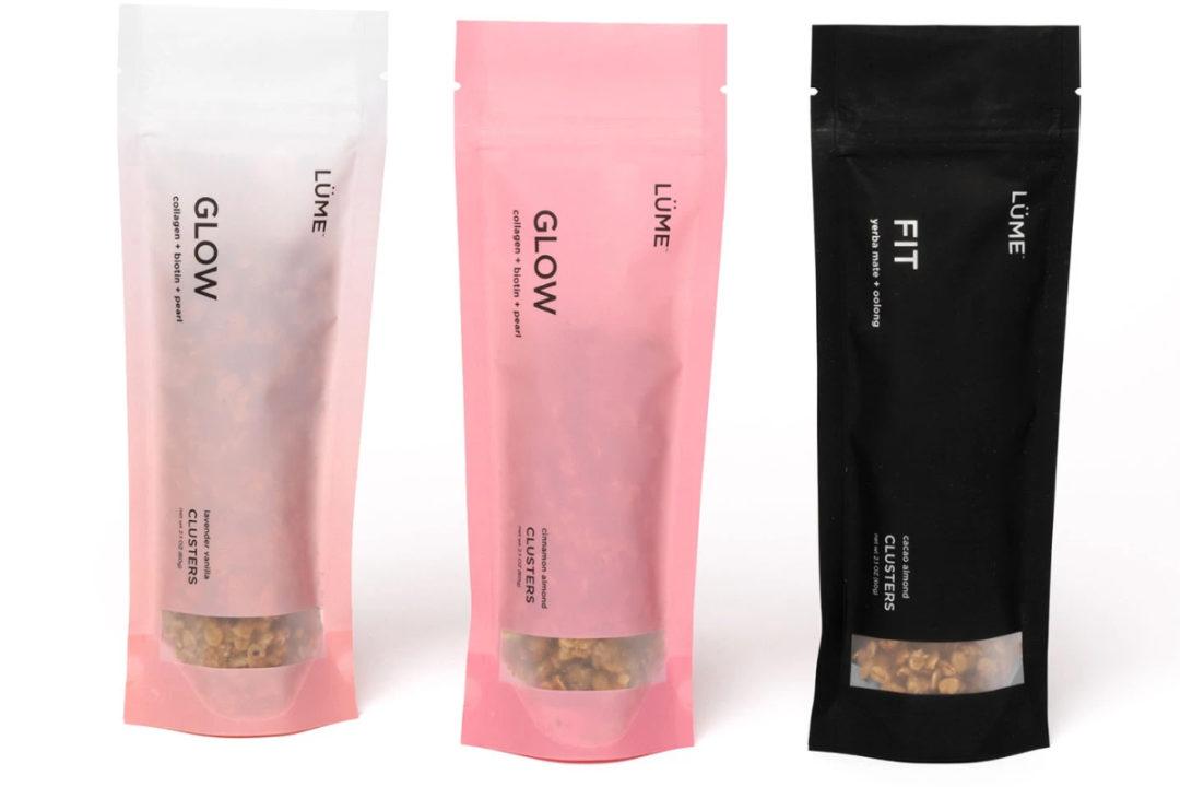 LUME functional granolas