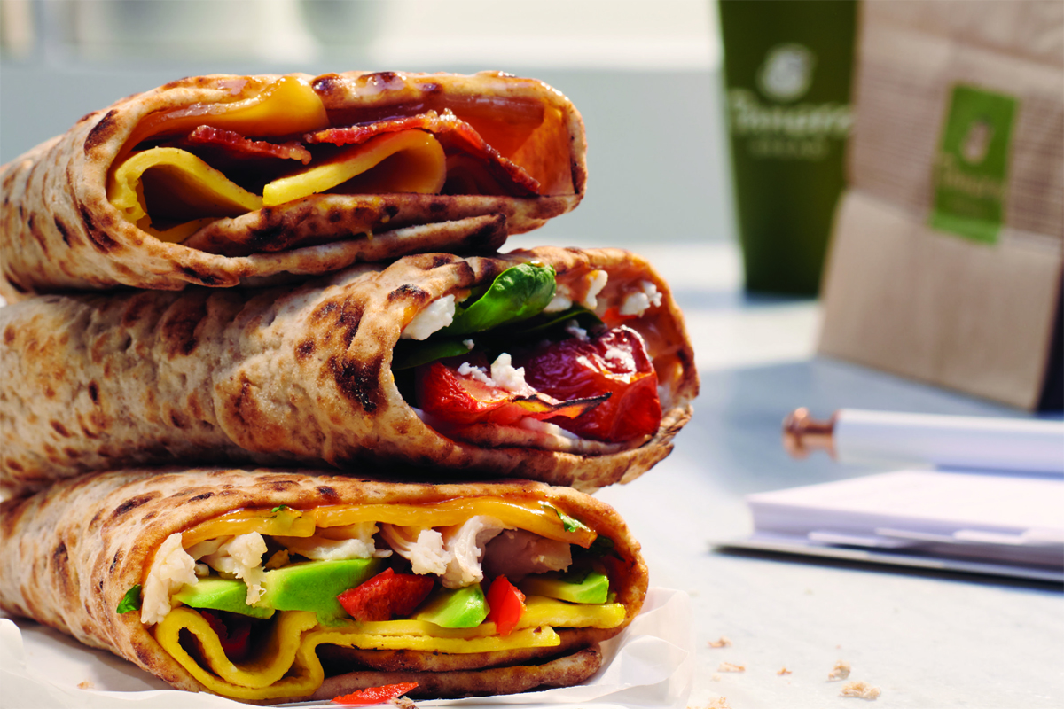 Panera Bread wraps