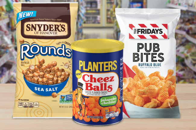 New salty snacks from Campbell Soup, Kraft Heinz, Utz