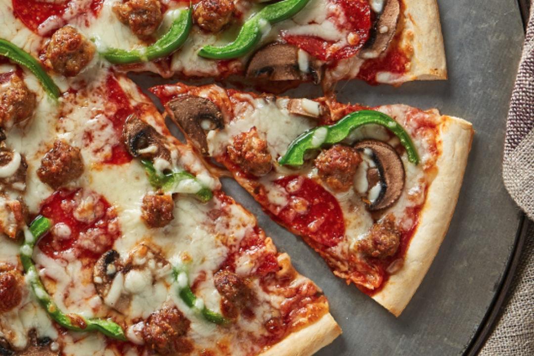 TNT Crust pizza crust