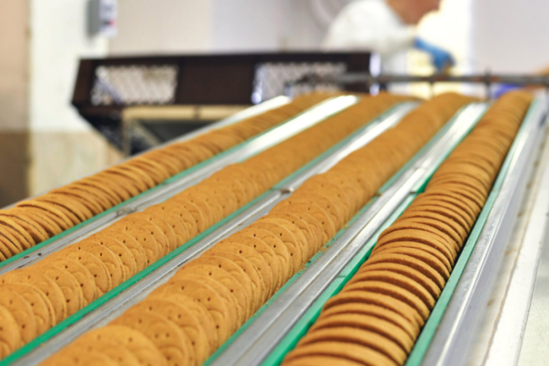 Cookie manufacturing
