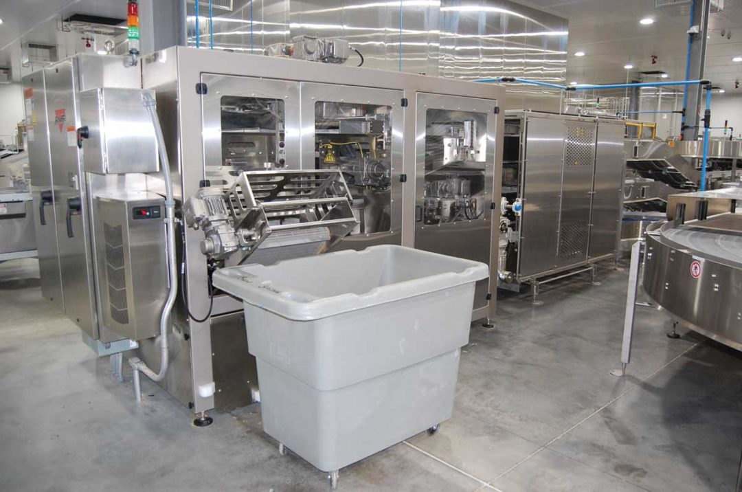 Pan cleaning, commercial baking