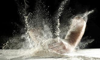 Flourhandling lead