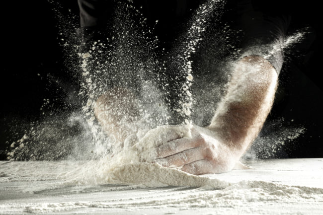 Flour handling