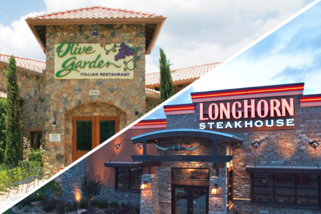 Olive Garden and Longhorn Steakhouse restaurants