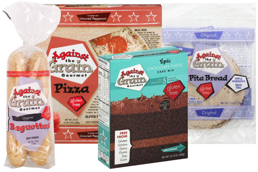 Against the Grain Gourmet products