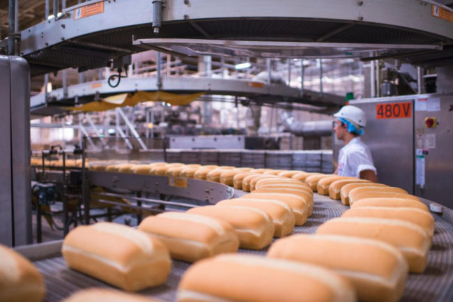 BBU bread production line