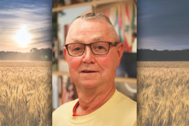 Ben Handcock, a wheat grower and longtime executive vice president of the Wheat Quality Council