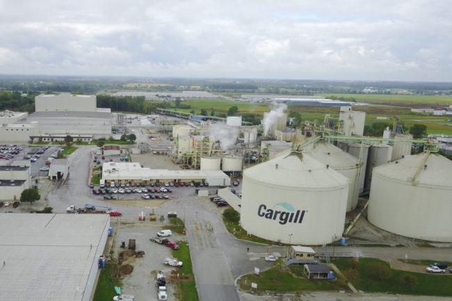 Cargill facility in Ohio