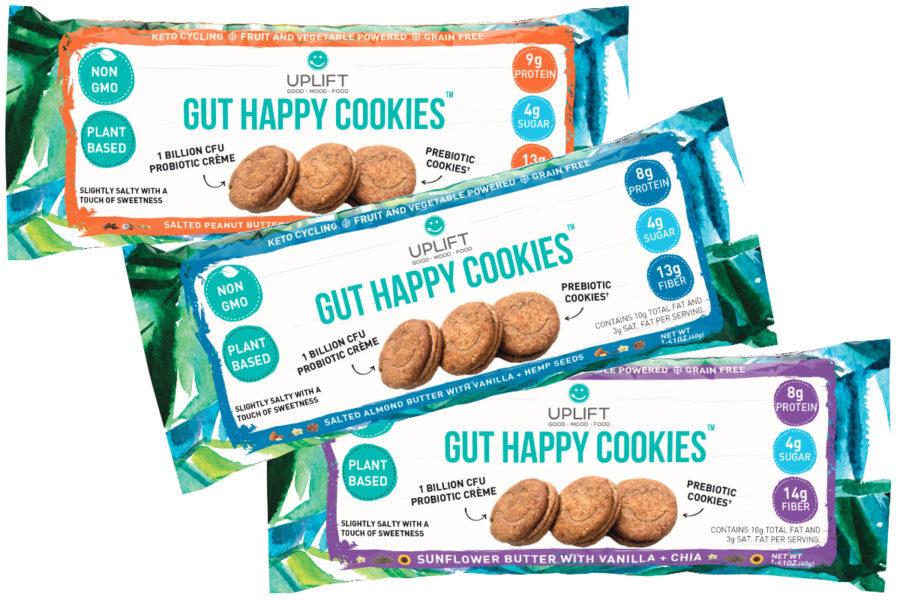 Uplift Foods probiotic cookies