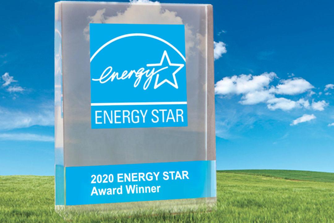 Energy Star 2020 award