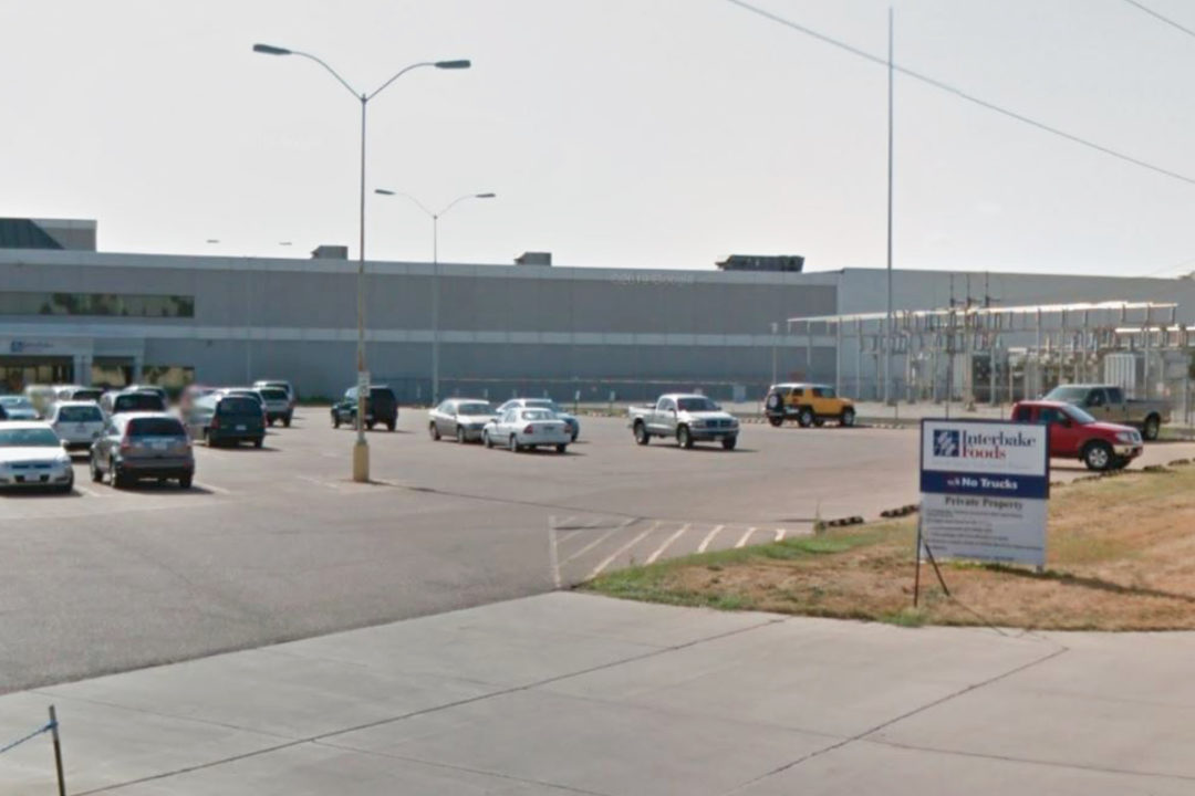 Interbake Foods cookie and cracker plant in North Sioux City