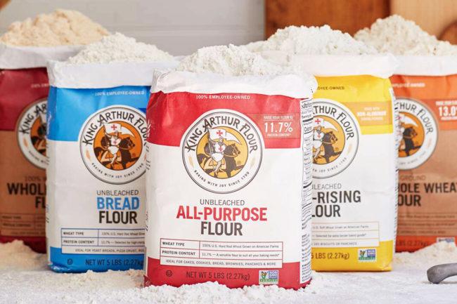King Arthur Flour lineup