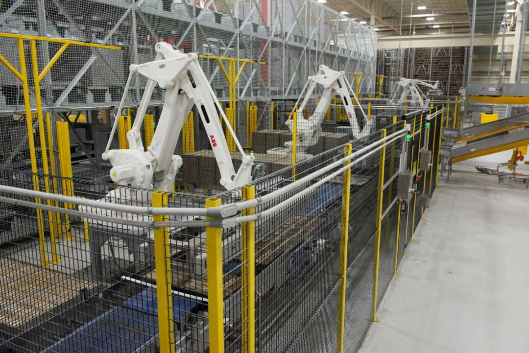 Food manufacturing, line isolation