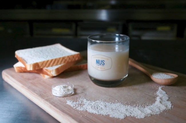 NUS probiotic drink made with old bread