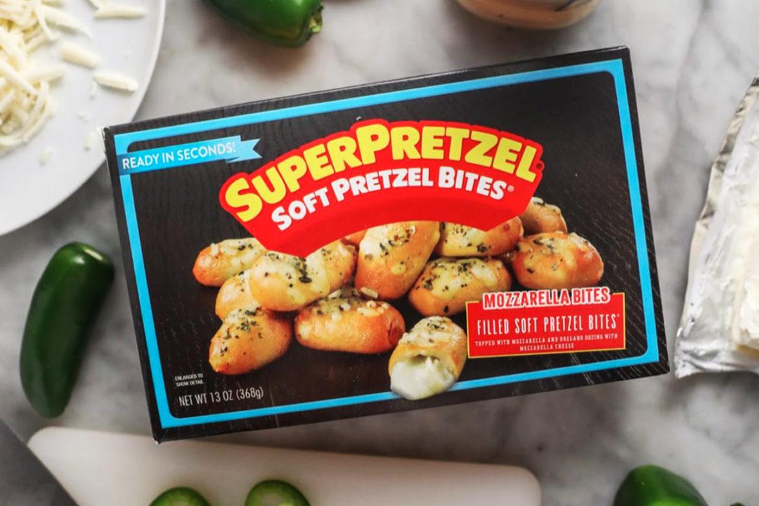Superpretzel mozzarella pretzel bites