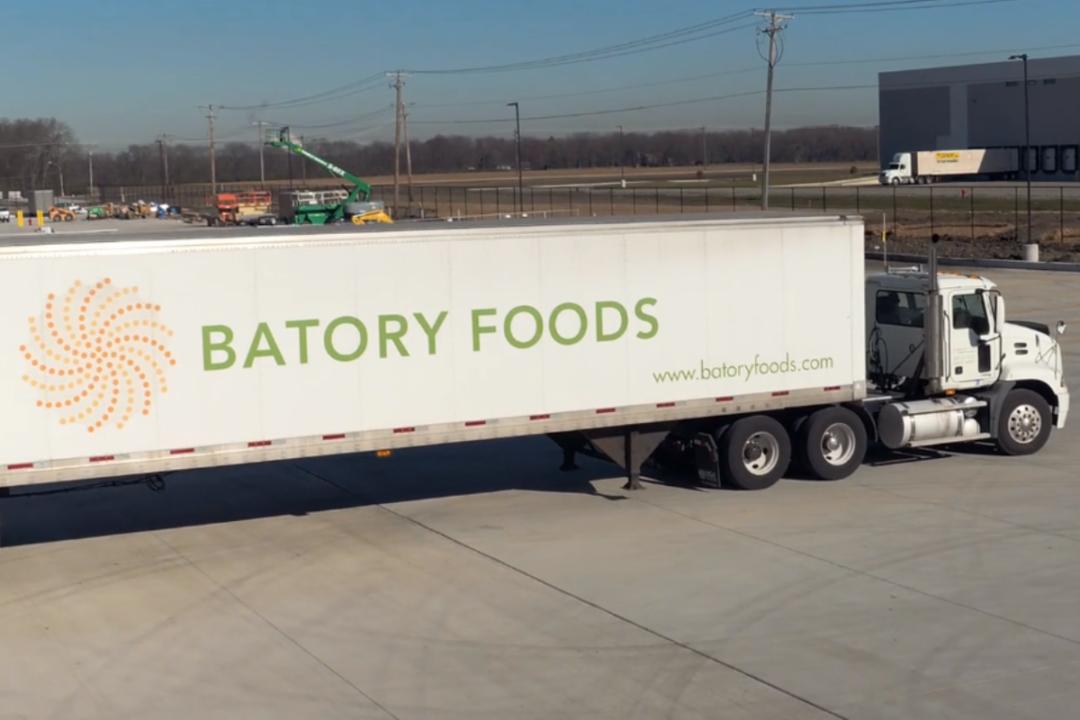 Batory Foods freight truck